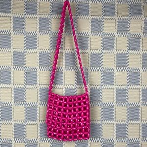 Hot Pink Vintage 1960s Mod Stylecraft Purse